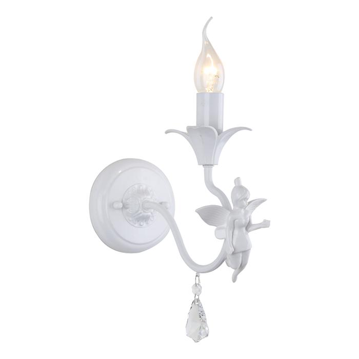 Светильник настенный Arte Lamp ANGELINA A5349AP-1WHA5349AP-1WH
