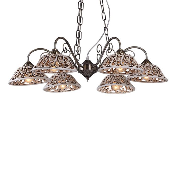 Светильник подвесной Arte Lamp CARVED A5387LM-6ABA5387LM-6AB