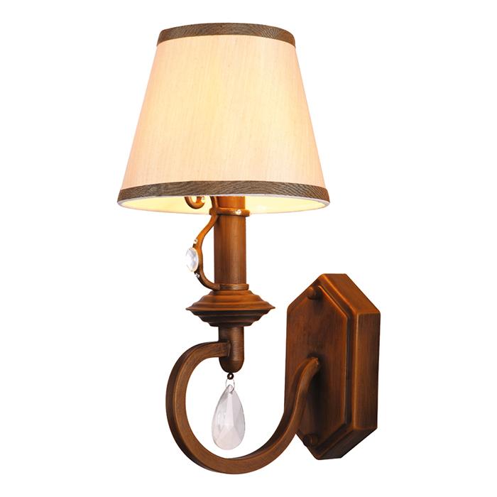 Светильник настенный Arte Lamp Castello A6016AP-1BGA6016AP-1BG