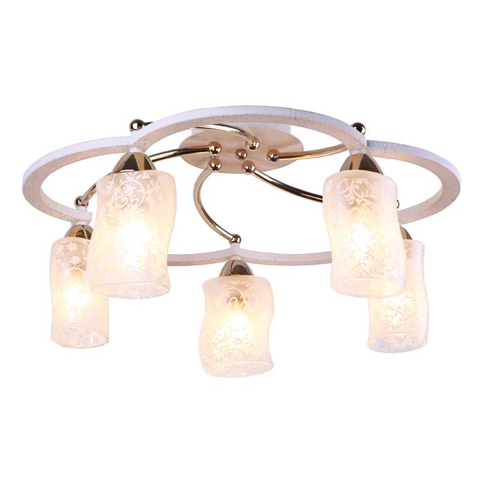 Светильник потолочный Arte Lamp Gianni A6166PL-5WGA6166PL-5WG