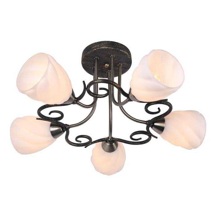 Светильник потолочный Arte Lamp SWIRLS A6253PL-5BAA6253PL-5BA