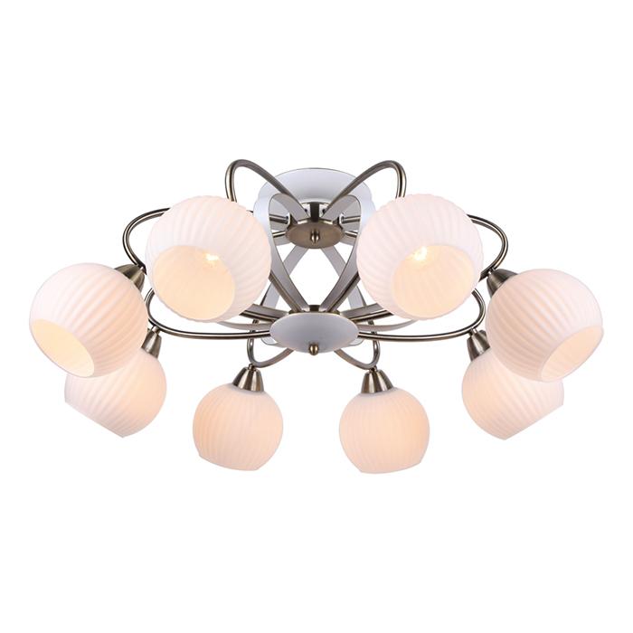 Светильник потолочный Arte Lamp ELLISSE A6342PL-8WGA6342PL-8WG
