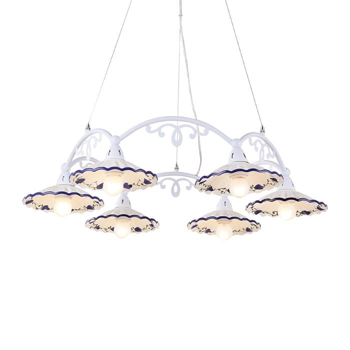 Светильник подвесной Arte Lamp Anna A6473LM-6WHA6473LM-6WH