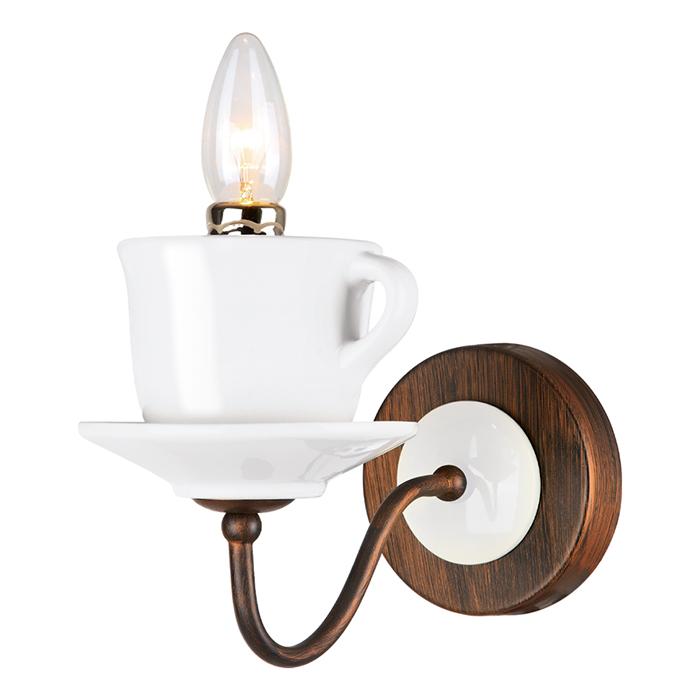 Светильник настенный Arte Lamp SERVIZIO A6483AP-1WHA6483AP-1WH
