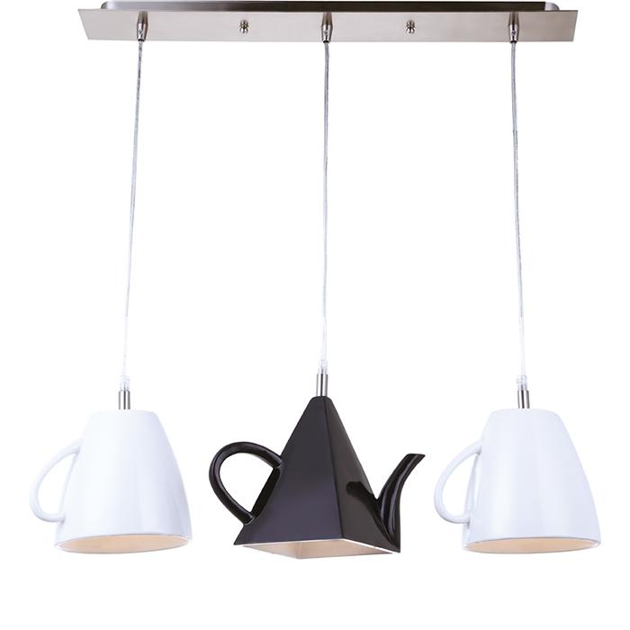 Светильник подвесной Arte Lamp Brooklyn A6604SP-3WHA6604SP-3WH