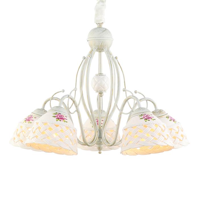 Светильник подвесной Arte Lamp WICKER A6616LM-5WGA6616LM-5WG