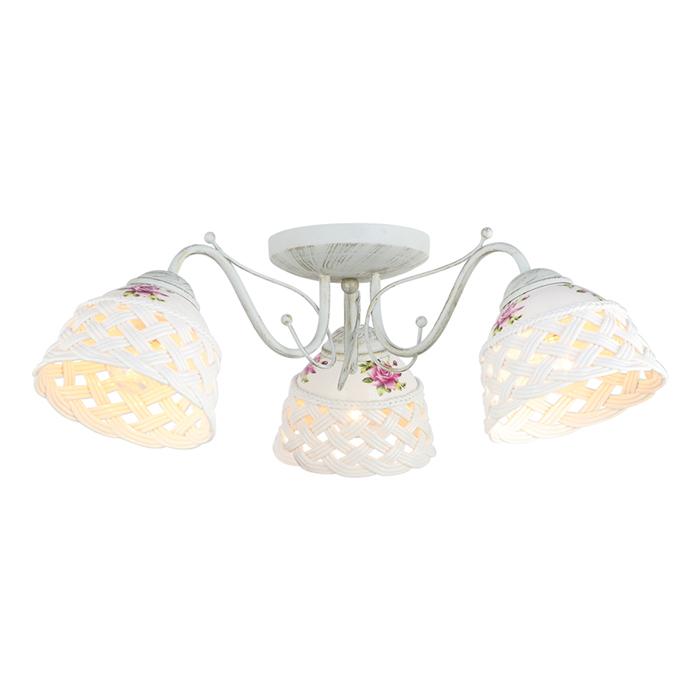 Светильник потолочный Arte Lamp WICKER A6616PL-3WGA6616PL-3WG
