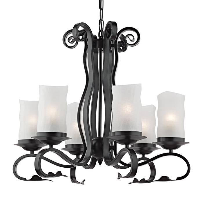 Светильник подвесной Arte Lamp SCROLL A7915LM-6BKA7915LM-6BK