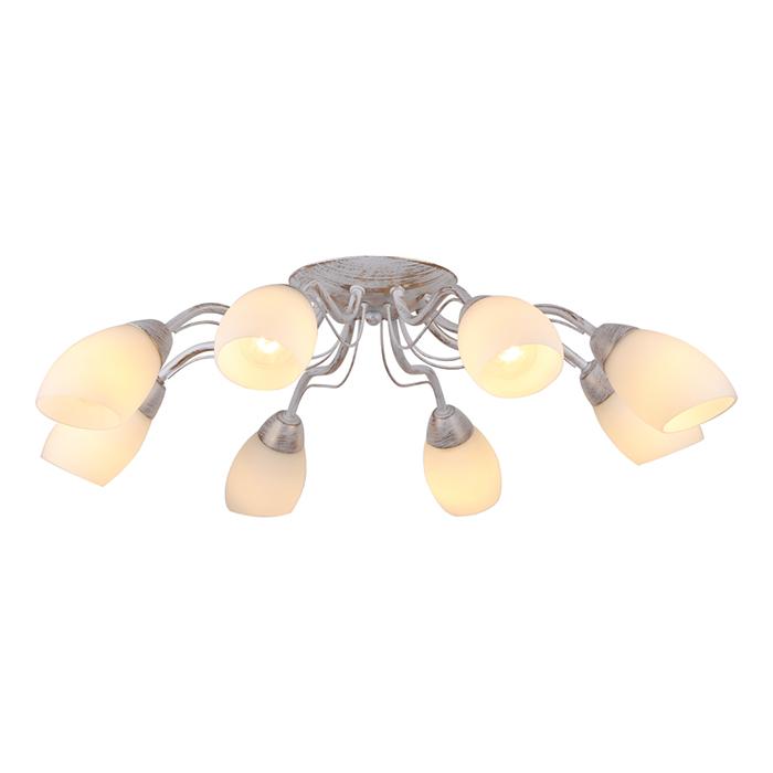 Светильник потолочный Arte Lamp Carlo A8105PL-8WGA8105PL-8WG