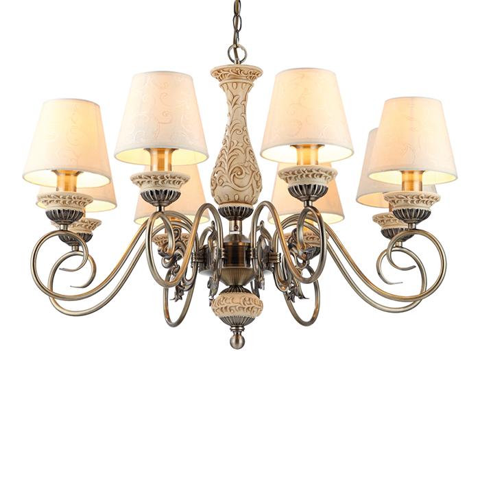 Светильник подвесной Arte Lamp Ivory A9070LM-8AB