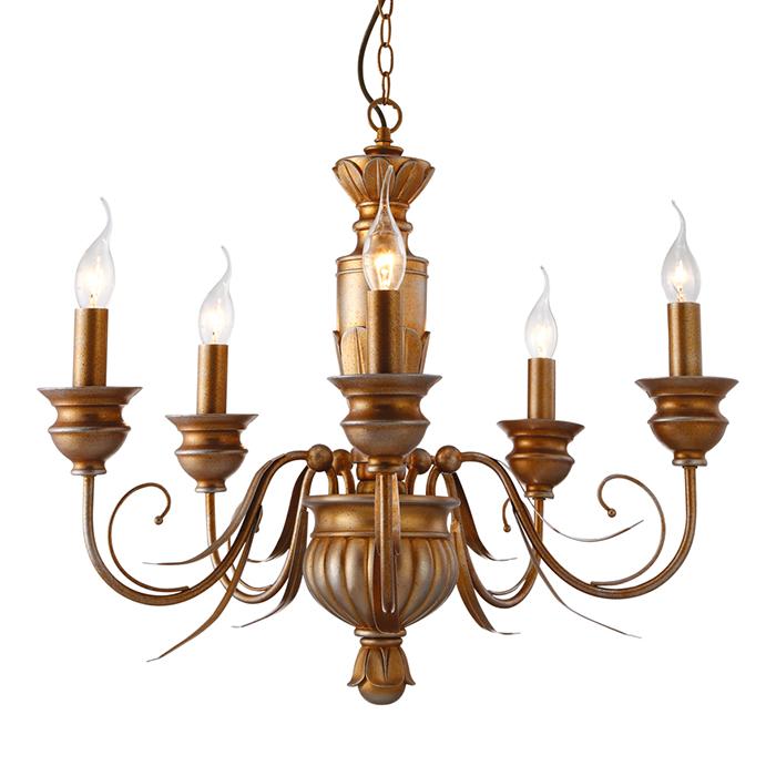 Светильник подвесной Arte Lamp Doratura A9075LM-5GAA9075LM-5GA