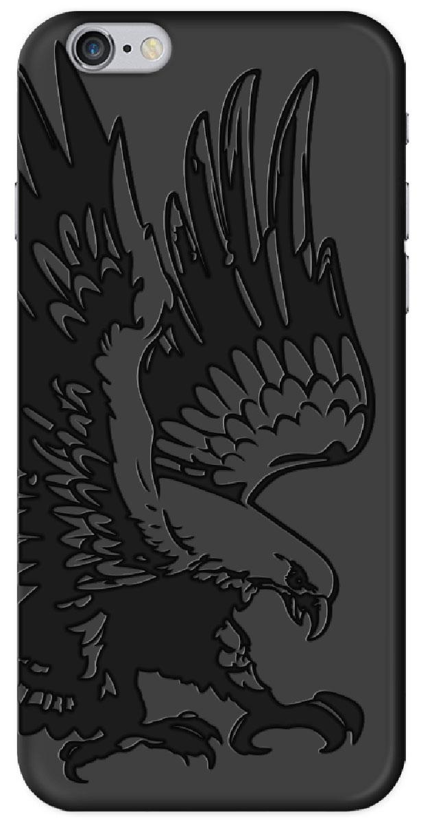 Deppa Art Case чехол для Apple iPhone 6/6s, Black (коршун)100257Чехол Deppa Art Case для Apple iPhone 6/6s предназначен для защиты корпуса смартфона от механических повреждений и царапин в процессе эксплуатации. Имеется свободный доступ ко всем разъемам и кнопкам устройства. Чехол изготовлен из поликарбоната толщиной 0,7 мм. В комплект также входит защитная пленка из трехслойного японского материала PET.