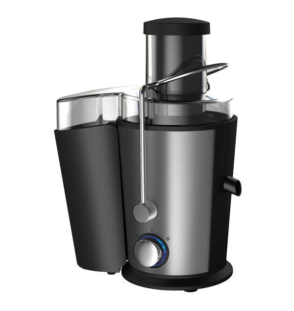 Endever Skyline JE-80 соковыжималкаJE-80Соковыжималка ENDEVER SkyLine JE-80 имеет специальную емкость для сбора готового сока с сепаратором для отделения пены объемом 550 мл, а также большой съемный контейнер для мякоти объемом 1,6 л. Прорезиненные ножки обеспечивают соковыжималке дополнительную устойчивость. Устройство также оснащено системой защиты: при перегреве или неправильной сборке оно автоматически отключается. Корпус соковыжималки ENDEVER SkyLine JE-80 из высококачественной нержавеющей стали отличается не только прочностью и долговечностью, но и стильным элегантным дизайном. Особую изысканность ему придает голубая подсветка переключателя режимов работы. Соковыжималка ENDEVER SkyLine JE-80 – это полезные свежие соки для всей семьи и атрибут здорового образа жизни у вас на кухне!