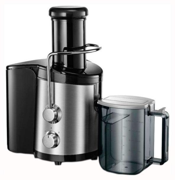 Midea MJ-60JM01B соковыжималкаMJ-60JM01BМощность: 650 Ватт, широкая загрузочная горловина: 75 мм, 2 скорости для приготовления сока из мягких и твердых фруктов, сетчатый фильтр из нержавеющей стали, емкость контейнера для сока 1.25л, емкость контейнера для мякоти 1.5л, возможность загрузки целых фруктов и овощей, автоматическая блокировка, прозрачная крышка, резиновые ножки для лучшей устойчивости