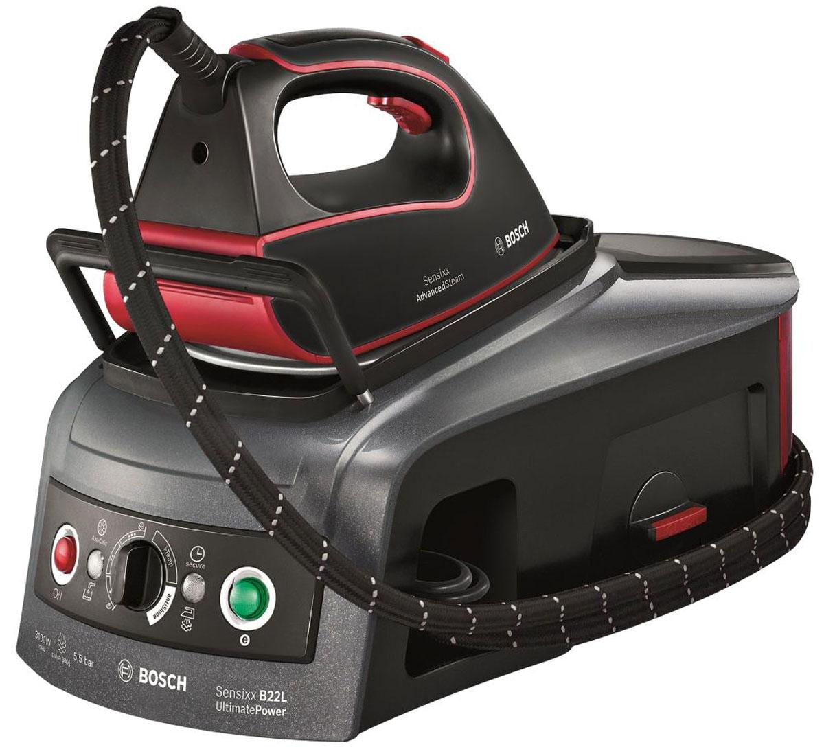 Bosch TDS 2251, Red Black паровая станция
