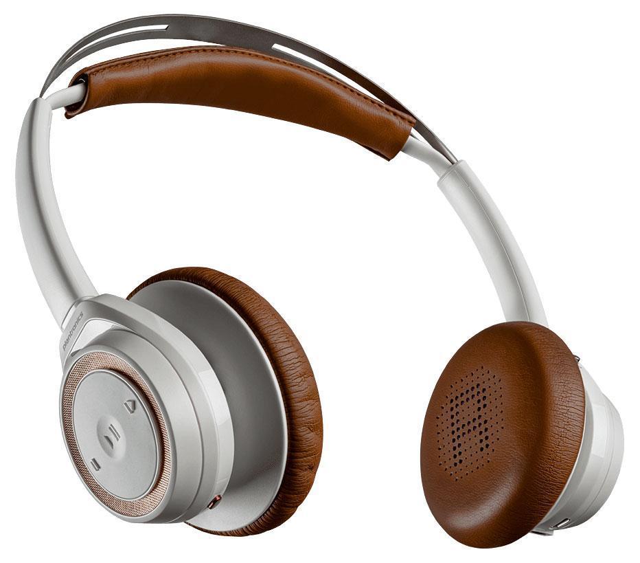 Plantronics BackBeat Sense, White Bluetooth-гарнитура203749-05Интеллектуальные беспроводные технологии Оцените широкие возможности благодаря инновационным интеллектуальным технологиям. Потоковое воспроизведение аудио приостанавливается при снятии наушников и возобновляется при их надевании. Управляйте двумя устройствами с поддержкой Bluetooth, такими как смартфон и планшет, на расстоянии до 100 м без единого прикосновения. Слушайте только то, что важно для вас Погрузитесь в мир музыки, прослушивая свои списки воспроизведения и подкасты, пока вы занимаетесь повседневными делами. Благодаря времени работы в беспроводном режиме до 18 часов с возможностью подключения кабеля после разрядки аккумулятора можно ни на минуту не отрываться от прослушивания музыки. При поступлении входящего вызова воспроизведение музыки автоматически приостанавливается. Комфорт в течение всего дня Оцените удобство наушников BackBeat SENSE. Благодаря амбушюрам с мягкими накладками из поролона с эффектом памяти и саморегулирующемуся оголовью вы будете чувствовать себя...