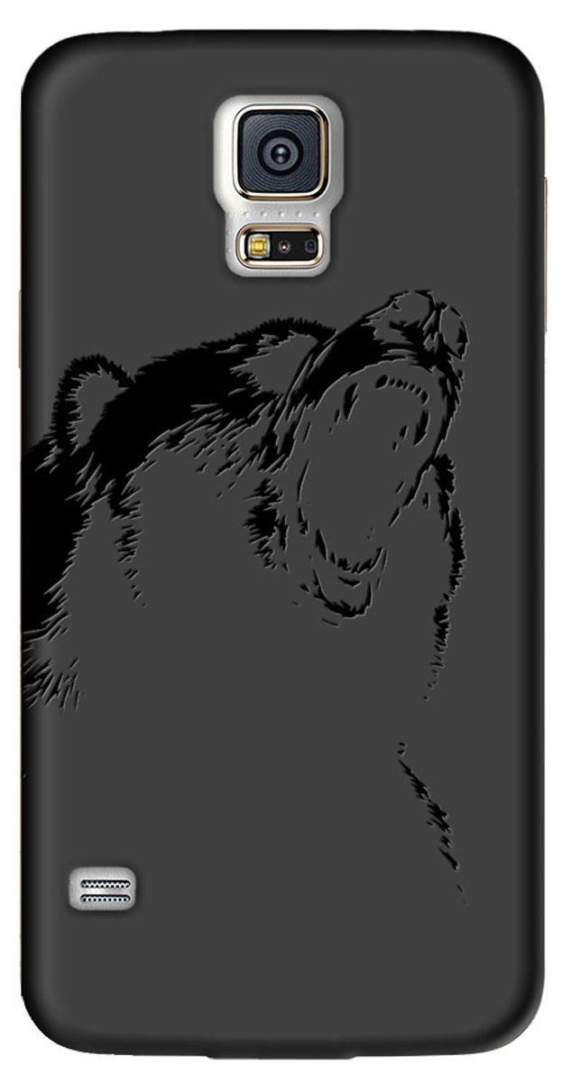Deppa Art Case чехол для Samsung Galaxy S5, Black (медведь)100264Чехол Deppa Art Case для Samsung Galaxy S5 предназначен для защиты корпуса смартфона от механических повреждений и царапин в процессе эксплуатации. Имеется свободный доступ ко всем разъемам и кнопкам устройства. Чехол изготовлен из поликарбоната толщиной 1 мм и оформлен принтом с изображением медведя. В комплект также входит защитная пленка из трехслойного японского материала PET.