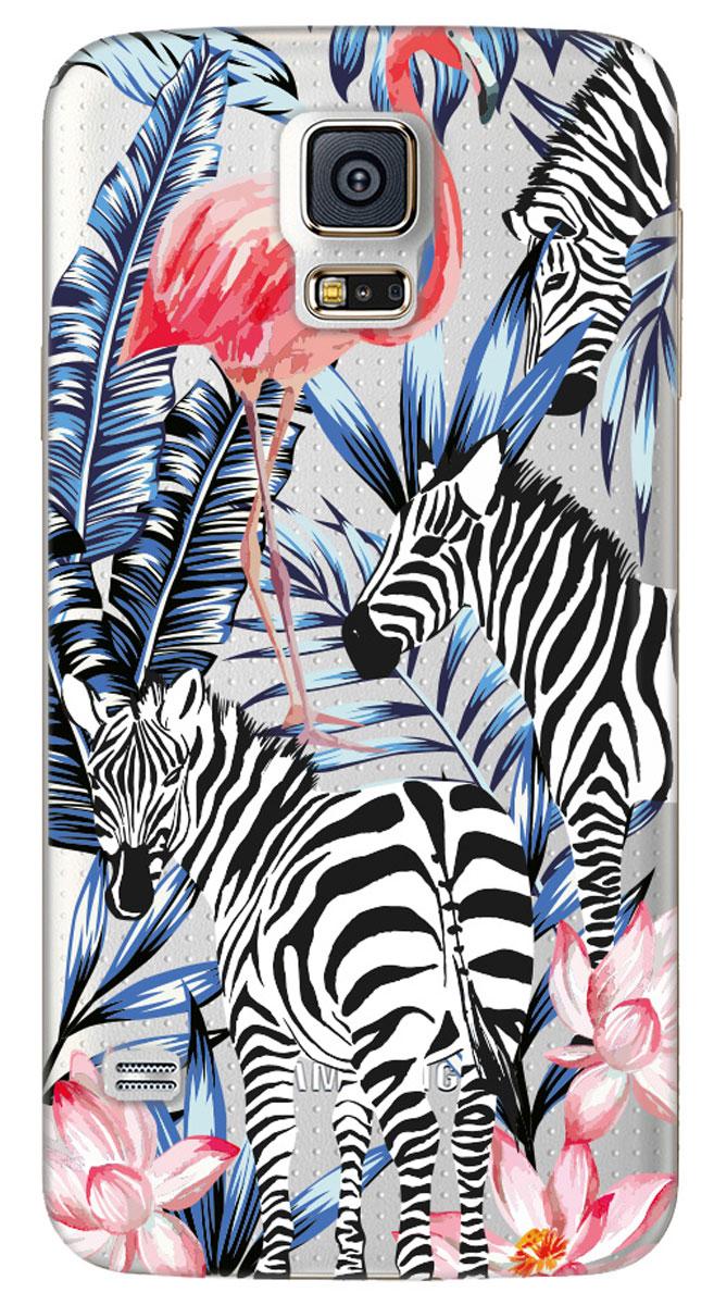 Deppa Art Case чехол для Samsung Galaxy S5, Jungle (зебры)100163Чехол Deppa Art Case для Samsung Galaxy S5 предназначен для защиты корпуса смартфона от механических повреждений и царапин в процессе эксплуатации. Имеется свободный доступ ко всем разъемам и кнопкам устройства. Чехол изготовлен из поликарбоната толщиной 1 мм и оформлен ярким принтом с изображением зебры. В комплект также входит защитная пленка из трехслойного японского материала PET.
