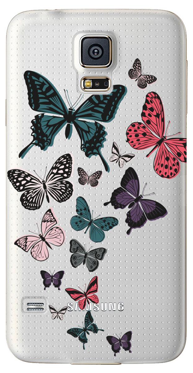 Deppa Art Case чехол для Samsung Galaxy S5, Military (бабочки 2)100058Чехол Deppa Art Case для Samsung Galaxy S5 предназначен для защиты корпуса смартфона от механических повреждений и царапин в процессе эксплуатации. Имеется свободный доступ ко всем разъемам и кнопкам устройства. Чехол изготовлен из поликарбоната толщиной 1 мм и оформлен ярким принтом с изображением бабочек. В комплект также входит защитная пленка из трехслойного японского материала PET.