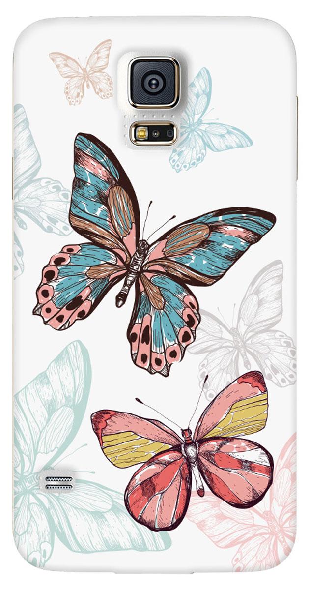 Deppa Art Case чехол для Samsung Galaxy S5, Pastel (бабочки)100212Чехол Deppa Art Case для Samsung Galaxy S5 предназначен для защиты корпуса смартфона от механических повреждений и царапин в процессе эксплуатации. Имеется свободный доступ ко всем разъемам и кнопкам устройства. Чехол изготовлен из поликарбоната толщиной 1 мм и оформлен нежным принтом в пастельных тонах с изображением бабочек. В комплект также входит защитная пленка из трехслойного японского материала PET.