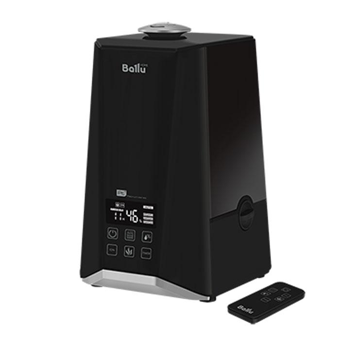 Ballu 1000-UHB увлажнитель воздухаUHB-1000Увлажнитель воздуха Ballu 1000-UHB обеспечивает мягкое увлажнение, способствует созданию благоприятного микроклимата в доме и имеет плавные формы, а также удобное и интуитивно понятное управление. Корпус увлажнителя выполнен в черном цвете. Прибор прост и удобен в эксплуатации - для увлажнения можно заливать водопроводную воду. Процесс увлажнения воздуха построен по принципу ультразвукового испарения. Вода, попадая в камеру парообразования, под воздействием ультразвука расщепляется на мельчайшие капли, которые образуют своеобразное облако пара, сквозь которое вентилятор малой мощности прогоняет воздух.