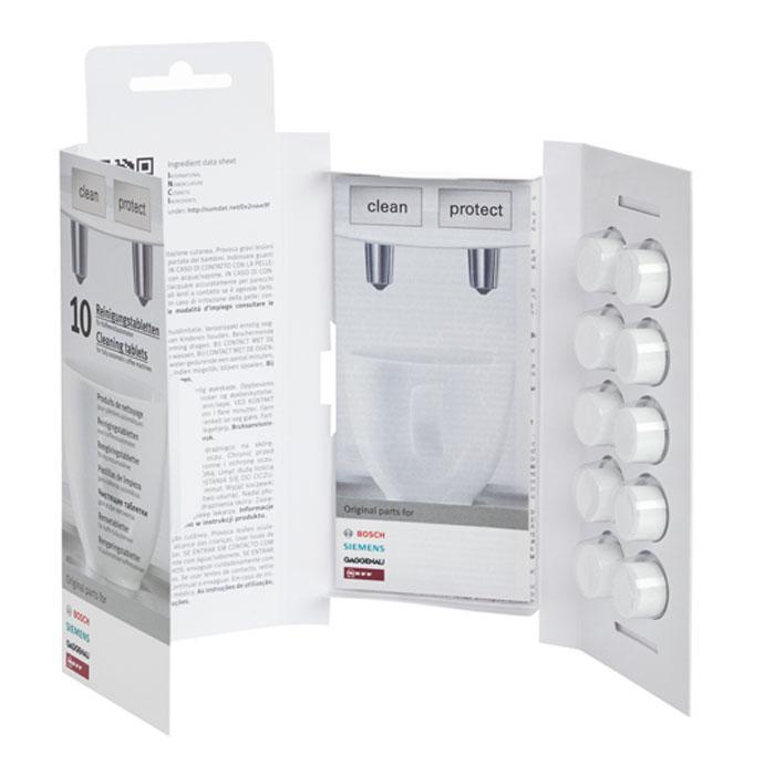 Bosch 311769 таблетки для очистки кофемашин от эфирных масел311769Таблетки Bosch 311769 безопасно и надежно удаляют эфирные масла с кофемашин. Продлевают срок службы вашего прибора и благодаря новой рецептуре предотвращают новые отложения кофейного жира. Подходят для всех моделей