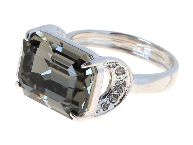 Кольцо Jenavi Коллекция Погода Шквал, цвет: серебряный, серый. e514f066. Размер 21e514f066Коллекция Погода, Шквал (Кольцо) гипоаллергенный ювелирный сплав,Серебрение c род. , вставка Кристаллы Swarovski , цвет - серебряный, серый, размер - 21 избегать взаимодействия с водой и химическими средствами