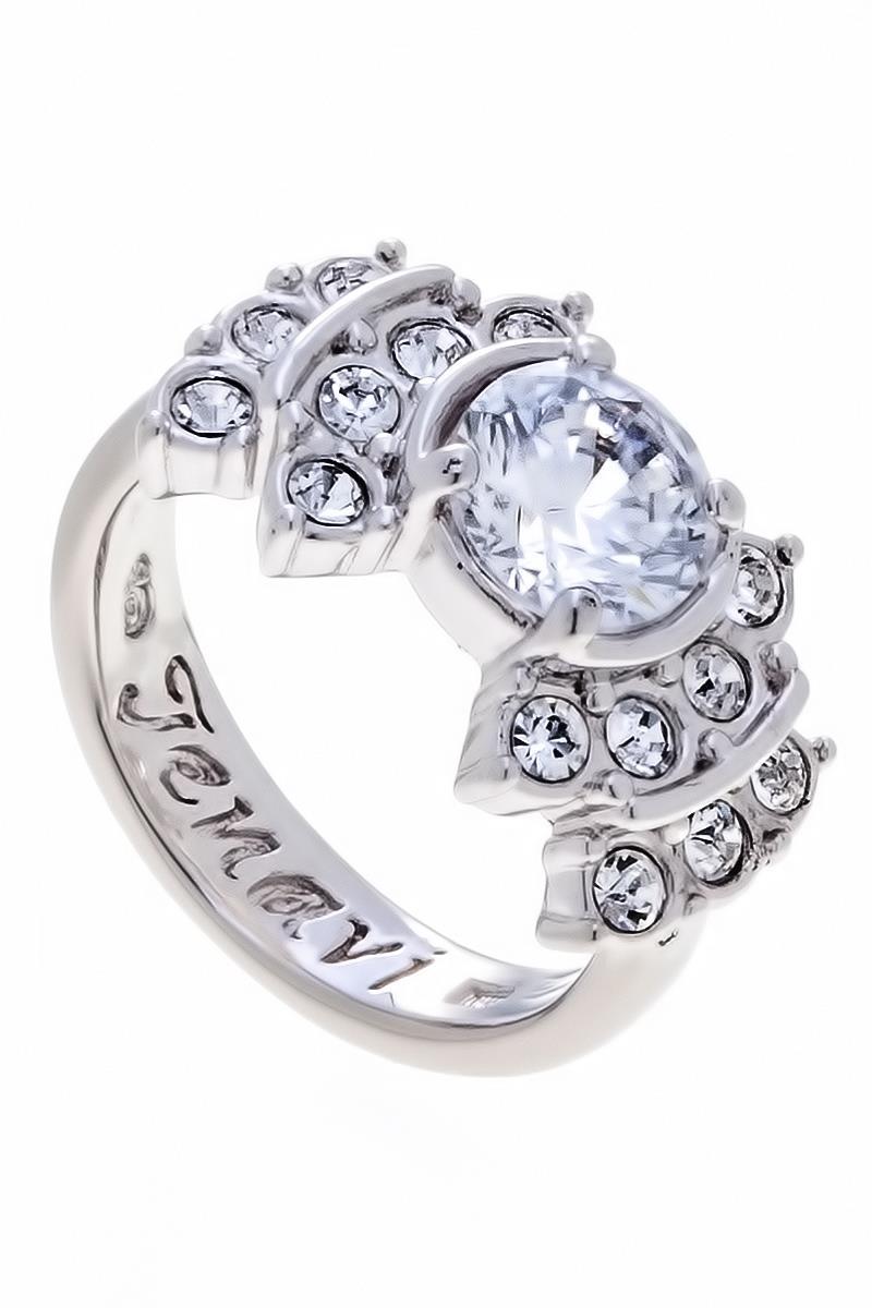 Кольцо Jenavi Коллекция Teona Гонле, цвет: серебряный, белый. f424f0a0. Размер 17f424f0a0Коллекция Teona, Гонле (Кольцо) гипоаллергенный ювелирный сплав,Серебрение c род. , вставка Фианит , цвет - серебряный, белый, размер - 17 избегать взаимодействия с водой и химическими средствами