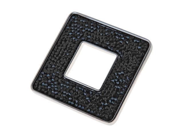 Брошь Jenavi Коллекция Шик Карус, цвет: серебряный, черный. j338f660. Размер 6\6j338f660Коллекция Шик, Карус (Брошь) гипоаллергенный ювелирный сплав,Серебрение c род. , вставка Кристаллы Swarovski , цвет - серебряный, черный избегать взаимодействия с водой и химическими средствами