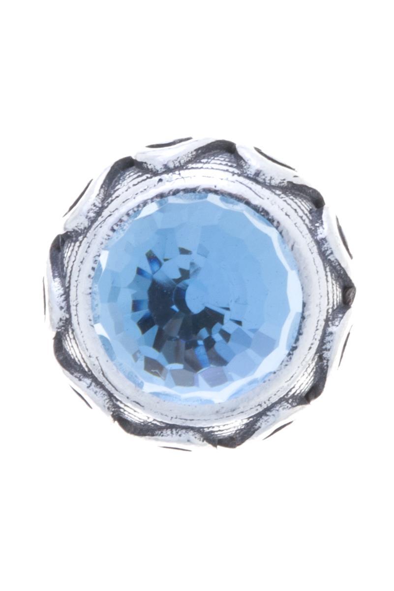 Накладка на кольцо-основу Jenavi Коллекция Ротор Ксавар, цвет: серебряный, голубой. k1873r40. Размер 1k1873r40Коллекция Ротор, Ксавар (Накладка,которая одевается на кольцо основу) гипоаллергенный ювелирный сплав,Черненое серебро, вставка Кристаллы Swarovski , цвет - серебро, голубой избегать взаимодействия с водой и химическими средствами