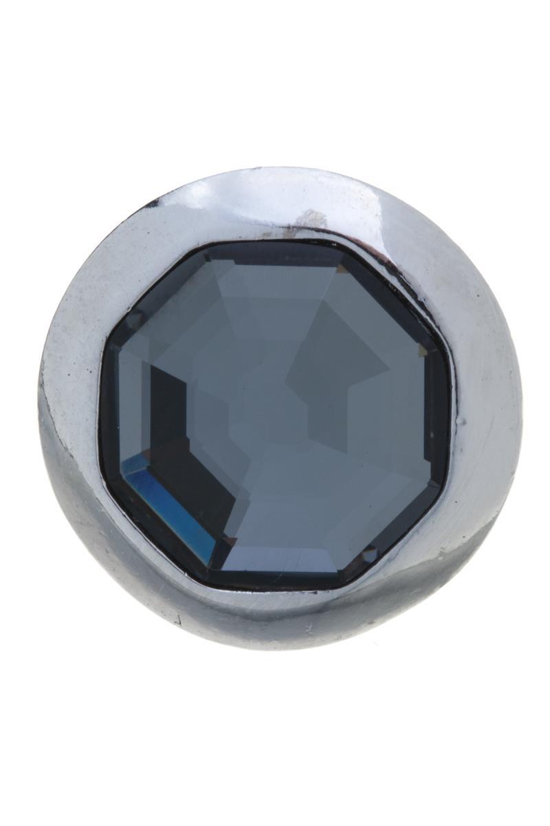 Накладка на кольцо-основу Jenavi Штраубе, цвет: серебряный, серый. k191fr66k191fr66Накладка на кольцо-основу Jenavi Штраубе выполнена в виде диска из ювелирного сплава, в центре которого расположен восьмигранный кристалл Swarovski. Изделие оснащено штифтом с резьбой, при помощи которого накладка фиксируется на кольце-основе. Накладка на кольцо-основу Jenavi позволит экспериментировать и дополнять ваш образ каждый день.