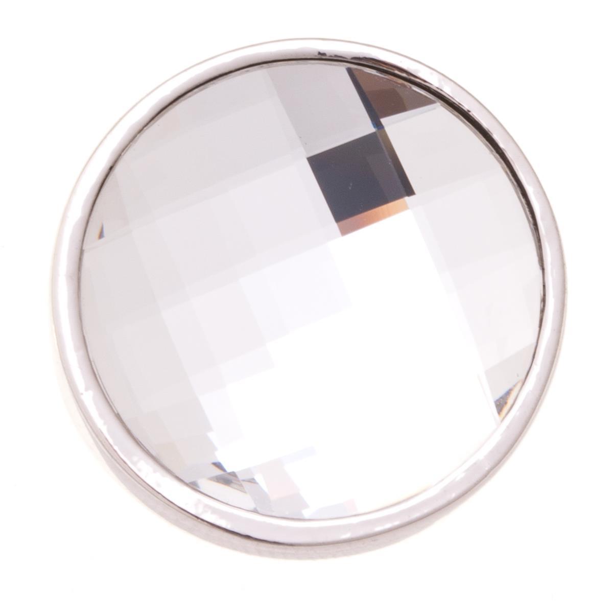 Накладка на кольцо-основу Jenavi Коллекция Ротор Сцрев, цвет: серебряный, белый. k193fr00. Размер 2k193fr00Коллекция Ротор, Сцрев (Накладка,которая одевается на кольцо основу) гипоаллергенный ювелирный сплав,Серебрение c род. , вставка Кристаллы Swarovski , цвет - серебряный, белый избегать взаимодействия с водой и химическими средствами