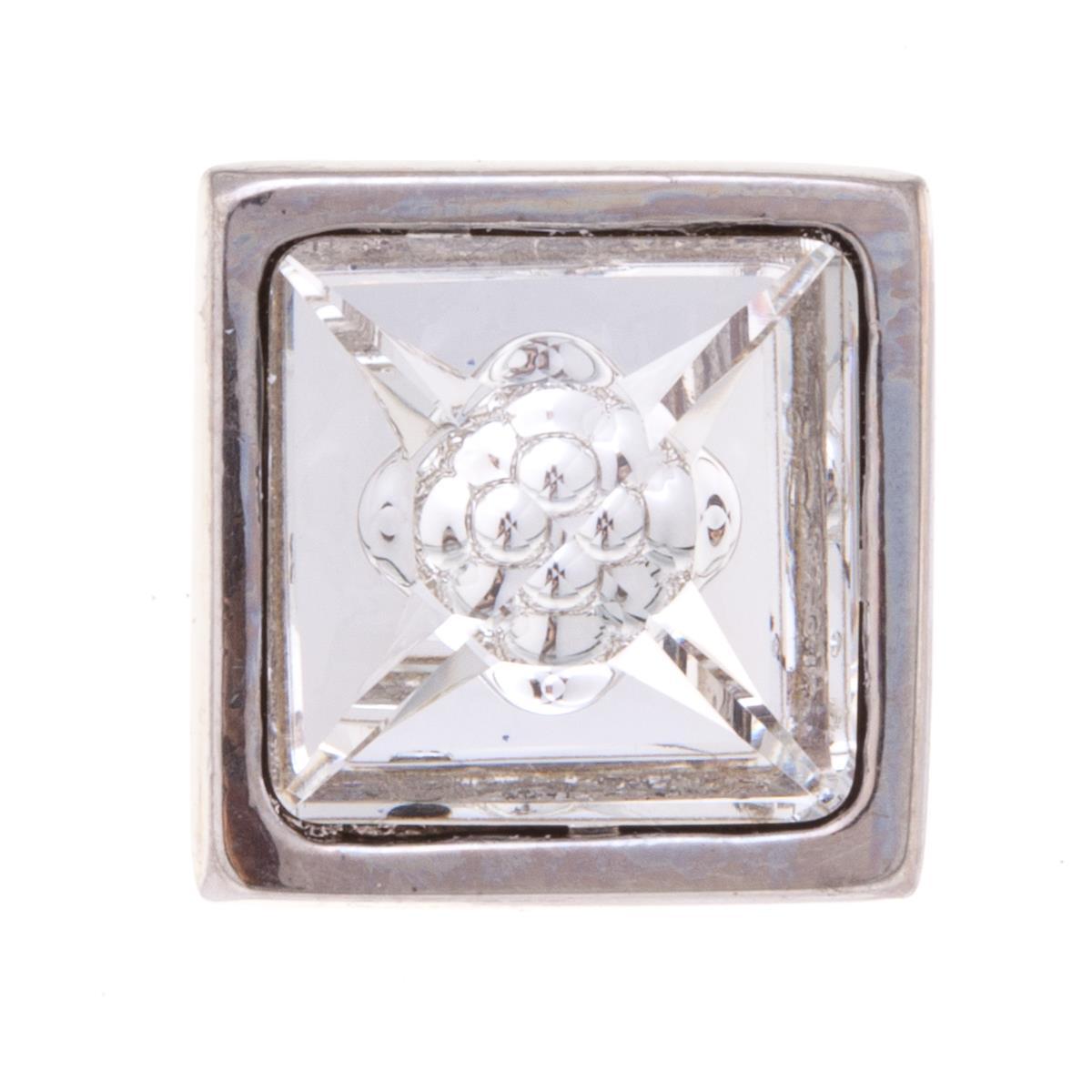 Накладка на кольцо-основу Jenavi Коллекция Ротор Вис, цвет: серебряный, белый. k195fr00. Размер 1,7/1,7k195fr00Коллекция Ротор, Вис (Накладка,которая одевается на кольцо основу) гипоаллергенный ювелирный сплав,Серебрение c род. , вставка Кристаллы Swarovski , цвет - серебряный, белый избегать взаимодействия с водой и химическими средствами