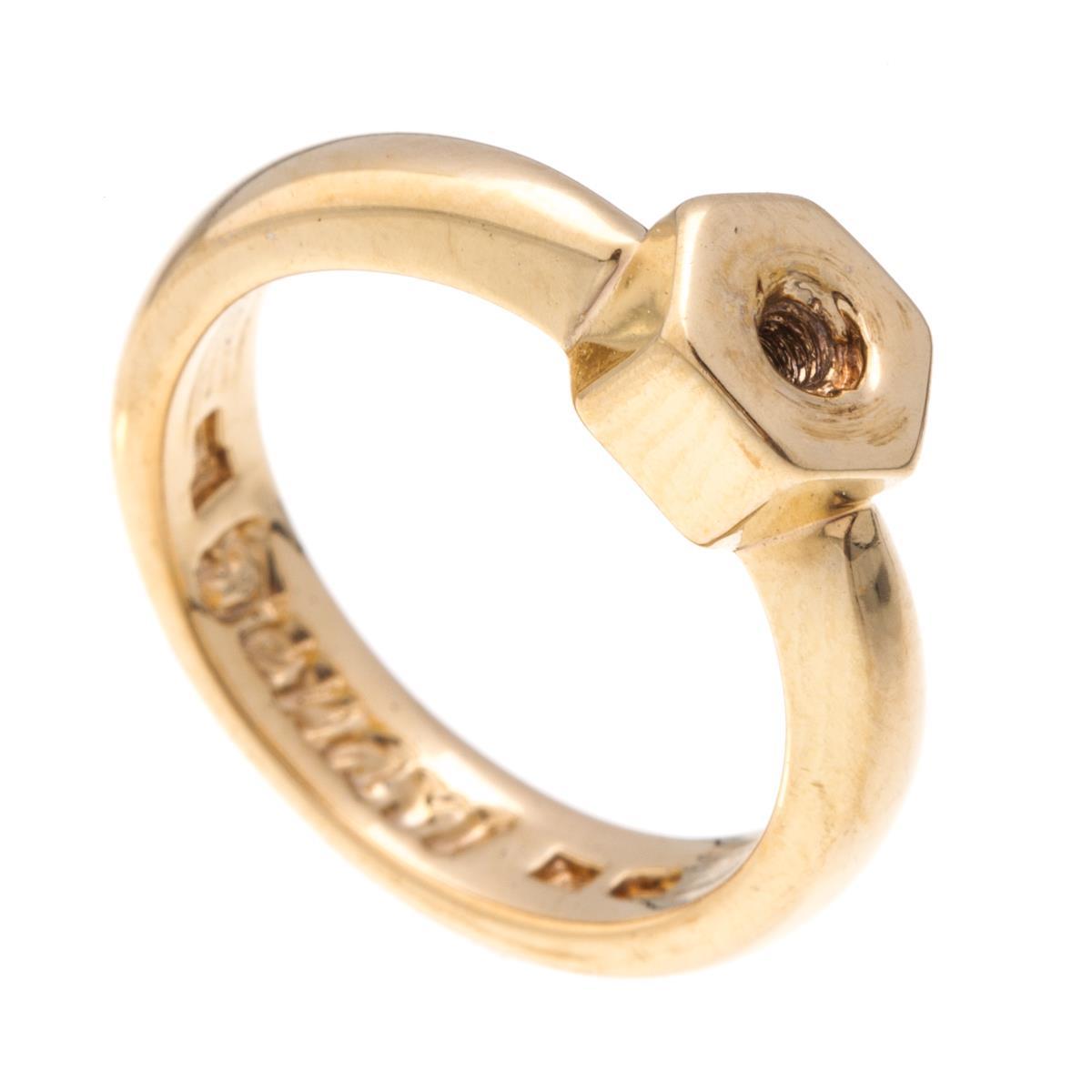 Кольцо-основа для накладки Jenavi Вис, цвет: золотой. k195p090. Размер 16k195p090Практичное кольцо-основа для накладки Jenavi Вис выполнено из гипоаллергенного ювелирного сплава, оформлено позолотой. Кольцо-основа позволит экспериментировать и дополнять ваш образ каждый день. Оригинальное кольцо-основа, благодаря возможности менять накладки, придаст вашему образу изюминку и подчеркнет индивидуальность.