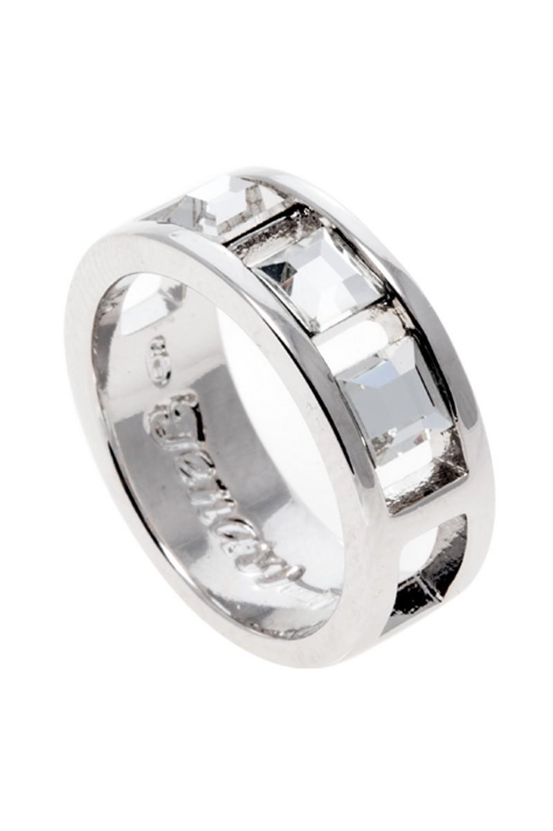 Кольцо Jenavi Коллекция Quadro Салокс, цвет: серебряный, белый. r835f000. Размер 16r835f000Коллекция Quadro, Салокс (Кольцо) гипоаллергенный ювелирный сплав,Серебрение c род. , вставка Кристаллы Swarovski , цвет - серебряный, белый, размер - 16 избегать взаимодействия с водой и химическими средствами