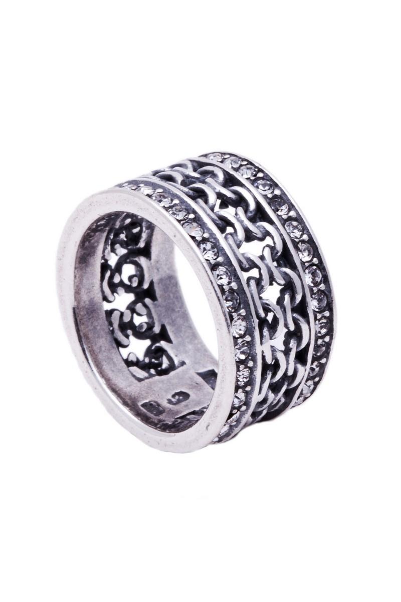 Кольцо Jenavi Коллекция Relax Макатава, цвет: серебряный, белый. r9663000. Размер 19r9663000Коллекция Relax, Макатава (Кольцо) гипоаллергенный ювелирный сплав,Черненое серебро, вставка Кристаллы Swarovski , цвет - серебро, белый, размер - 19 избегать взаимодействия с водой и химическими средствами