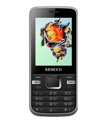 """Keneksi K5, BlackK5 BlackК5 - удивит вас стилем и качеством корпуса. Надежный металлический корпус телефона сочетает в себе элегантность и прочность. Это отличный вариант для тех, кто предпочитает """"кнопки"""" смартфонам. KENEKSI K5 доступный компактный телефон – это прекрасное сочетание удобства и функциональности. KENEKSI K5 оснащен ярким TN экраном с диагональю 2.4, который погрузит вас в мир развлечений. Слушай свои любимые треки, за счет встроенного FM-радио и музыкального проигрывателя. Будьте всегда на связи! С аккумулятором 800 mАh телефон К5 дает возможность общаться до 8,5 часов. Телефон поддерживает работу с двумя SIM – картами. Это позволит вам грамотно комбинировать тарифные планы звонков."""