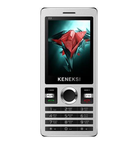 Keneksi K9, BlackK9 BlackБудьте всегда на связи с дорогими и близкими людьми. С KENEKSI K9, оснащенным аккумулятором на 800 мАч, вы забудете о проблемах с зарядкой устройств! Наслаждайтесь общением! Никогда не скучайте – вы можете слушать любимую музыку и смотреть видео прямо в дороге! в новом KENEKSI K9 предустановлены аудио проигрыватель, видеопроигрыватель и FM радио. Будьте всегда на связи с дорогими и близкими людьми с помощью KENEKSI K9, оснащенного аккумулятором на 800 mAh! Разграничьте личную и профессиональную жизнь – в этом вам поможет поддержка двух SIM-карт нового KENEKSI K9.