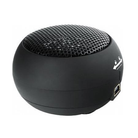 Mystery MSP-110, Black портативная акустическая система4897020613299Портативный динамик Mystery MSP-110 мощность 2 Вт обладают отличным качеством моно звучания. Благодаря встроенному аккумулятору его можно брать с собой в дорогу или на пикник. Также имеется втягивающийся кабель 3,5 мм. Обладает стильным дизайном и гладкой формой.