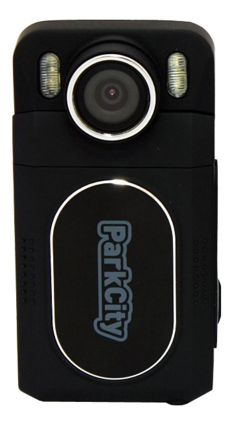 """ParkCity DVR HD 502, Black видеорегистратор00000006979Автомобильный видеорегистратор Parkcity DVR HD502 – миниатюрная версия популярной модели ParkCity DVR HD 500 от ведущего производителя видеорегистраторов. Несмотря на компактные размеры, по функциональному оснащению этот видеорегистратор не уступает «старшему брату», и даже получил немного больше возможностей. В частности, речь идет об акселерометре (G-сенсор), который в случае резкого изменения скорости или траектории движения (удар, экстренное торможение и т.д.) мгновенно включает защиту текущего файла видеозаписи от стирания в процессе циклической съемки. Видеорегистратор Parkcity DVR HD502 оснащен двухмегапиксельной матрицей 1/2.7"""" CMOS, что позволяет осуществлять видеосъемку с максимальным разрешением 1920х1080, а это значит, что в итоге пользователь получает видео высокой четкости Full HD. Скорость записи при этом составляет 30 кадров в секунду. Видеофайлы записываются в формате AVI, кодек – H.264. Видеорегистратор Parkcity DVR HD502 может осуществлять фотосъемку..."""