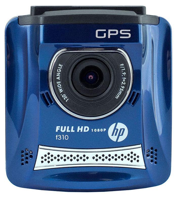 HP f310, Blue видеорегистратор