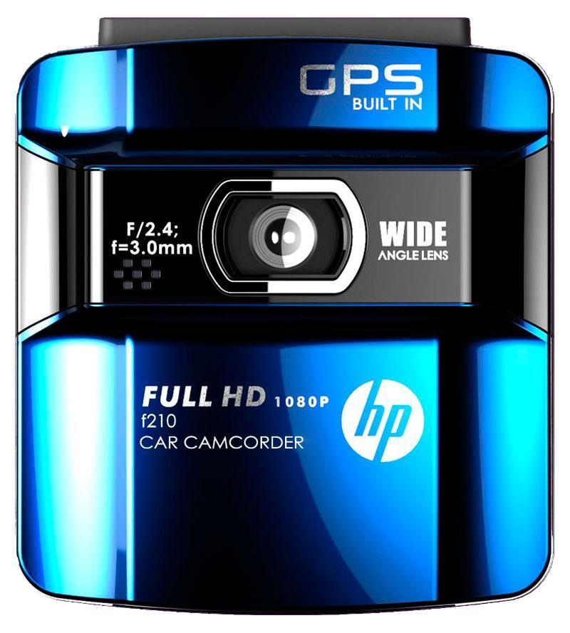 HP f210b, Blue видеорегистратор