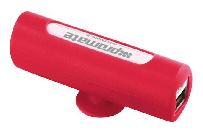 Promate reliefMate-2, Red внешний аккумулятор