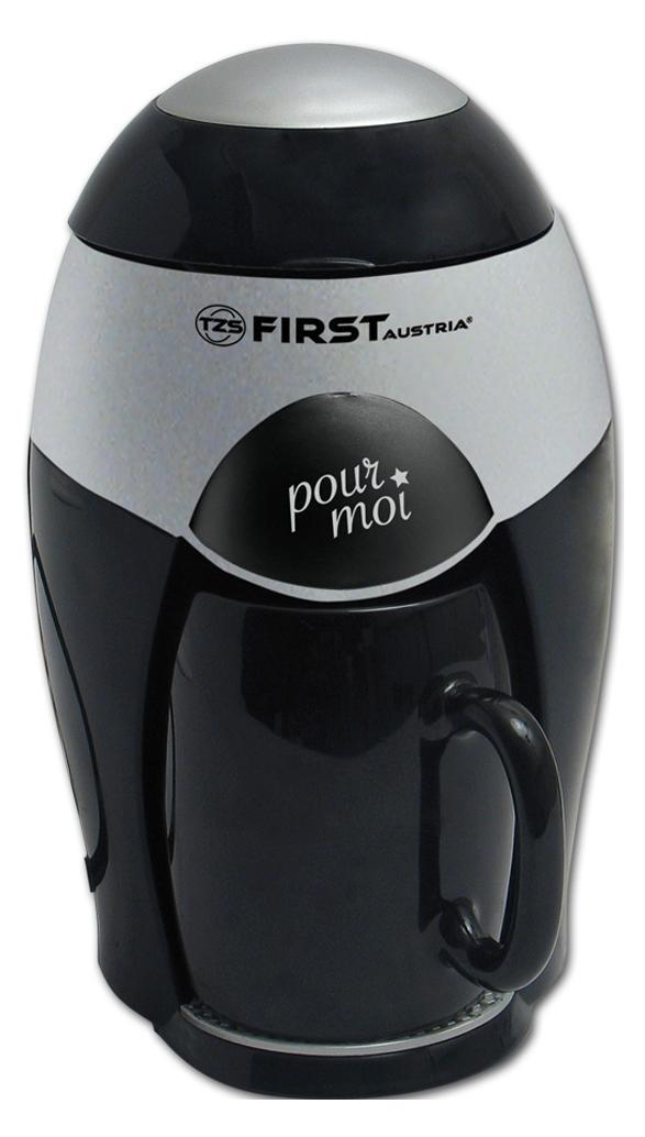 First FA-5463-ВА, Black Silver кофеварка