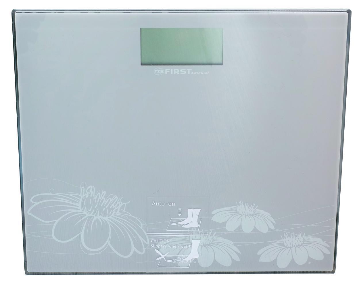 First FA-8015-2, Grey весы напольныеFA-8015-2 Grey8015-2 Весы напольные FIRST, электронные, ЖК-диспл., стекл. 6 мм, 150 кг, 100 гр,Grey
