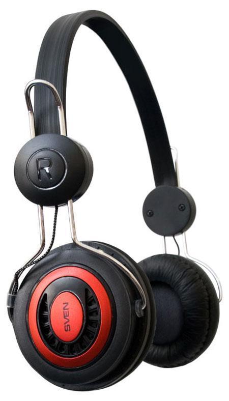 Sven GD-330V, Black Red наушники