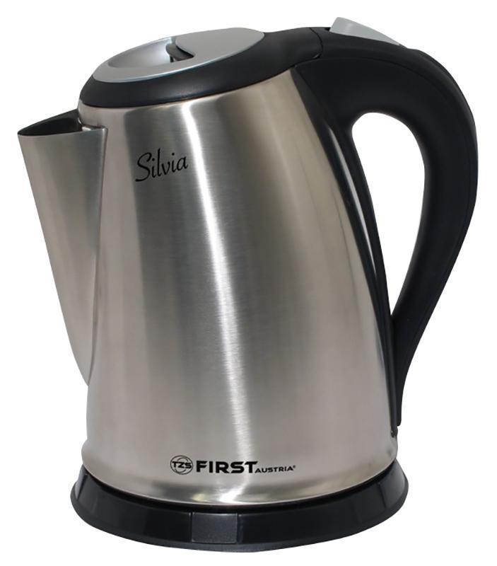 First FA-5410, Silver Black электрический чайникFA-5410 Silver/black