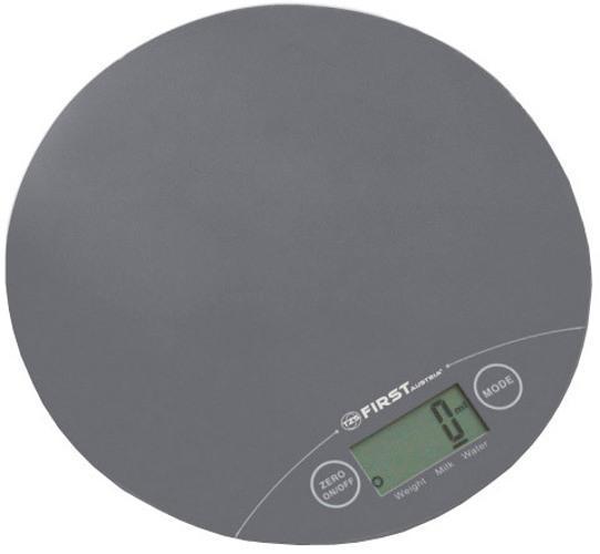 First FA-6400-1, Grey весы кухонные