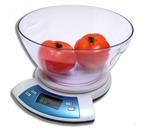 First FA-6406, White весы кухонныеFA-6406 White6406 Весы кухонные FIRST, электр., чаша 5 кг, 1 гр, тарокомпенсация, термометр, White