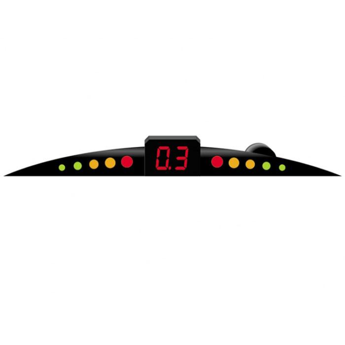 ParkCity Ultra Slim New 420/110, Black парковочный радар00000004375Очень часто приходится парковаться на оживленных улицах с ограниченным пространством для маневра. В данной ситуации вам непременно поможет парктроник ParkCity Ultra Slim New 420/110, позволяющий припарковать ваш автомобиль в самых сложных ситуациях. Уникальность данной модели - это сверхтонкий размер светодиодной шкалы и встроенный бипер со звуковым напоминанием о приближении препятствия. Комплектуется четырьмя датчиками, диаметр которых равен 20 мм. Определяет расстояние до препятствия с 2,5 до 0,3 метров. Диапазон рабочих температур: -40 до +80С. Автоматическое включение при выборе задней передачи Удобный дисплей, отображающий положение и расстояние до препятствия Встроенный динамик Легкость в установке, не требует дополнительного технического обслуживания Система отлично работает в особых условиях: в дождь, темное время суток, под воздействием высоких и низких температур Процессор: Phillips Рабочее напряжение: 10-15 вольт ...